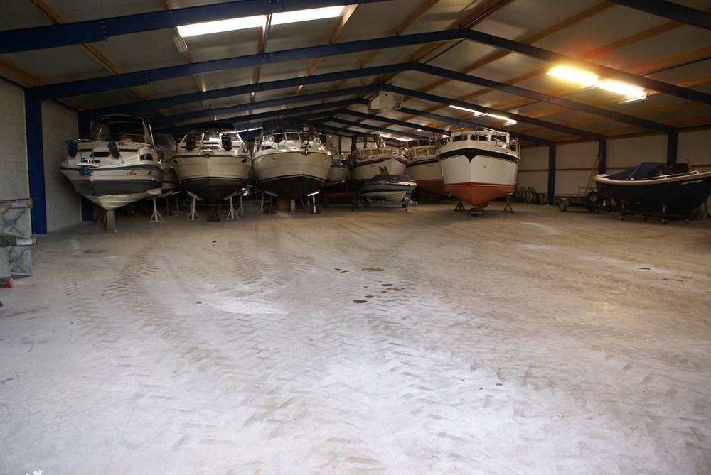Jachthaven Eibertsnest overdekte winterstalling
